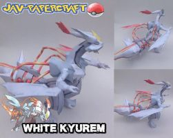 White Kyurem papercraft download by javierini