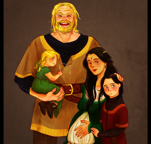 hurin's family by jubah