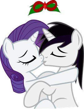 Vector BR Christmas kiss by Barrfind