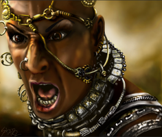 Xerxes from 300 by Starzshine