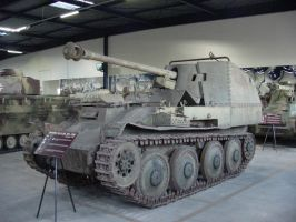 German Marder tank destroyer by Captain-Sweden