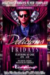 PSD Delicious Fridays Flyer by retinathemes