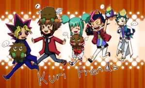 Kuri Friends by young-rain