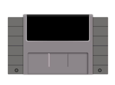 Snes Cartridge Vector by The-Desert-Tiger
