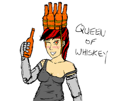 Queen of Whiskey by glue123