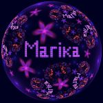 Fractal Name - Marika by Cosmic-Cuttlefish