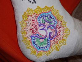 Drawing on a plaster... by Dyda81