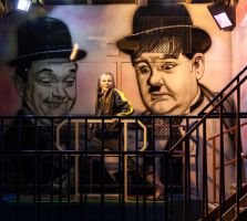 Laurel and Hardy by Wrightam