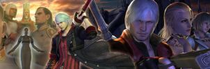 Devil May Cry 4 PERSONAGENS by sidneymadmax