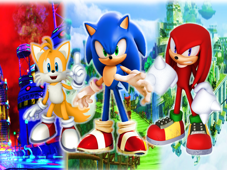 Team Sonic Heroes Wallpaper V2 by 9029561