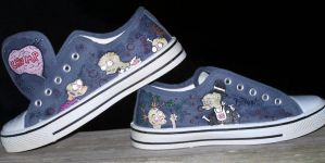 Zombie Shoes II by ChumpShoes