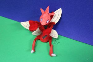 Cutter my Pompom Scizor by MeMiMouse