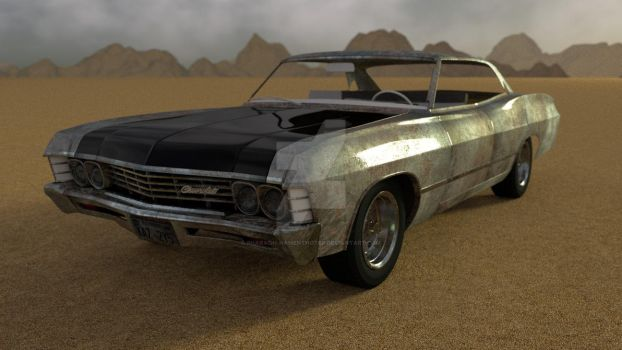 Impala WIP update by Pharaoh-Hamenthotep