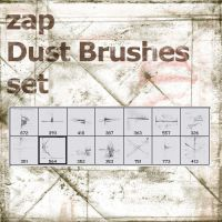 Zap Dust Brushes set by zap-br