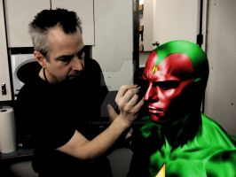 The Vision test by ComicBookGoth