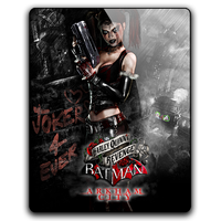 Batman AC-Harley Quinn's Revenge gameicon by Ahssassin0