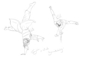 Gymnastickality by Thaylien