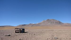 Bus in Bolivia by ibeliveicanfly