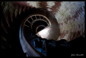 Fort Strong Lighthouse spiral by JohnDoe6