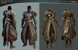 "GW 2 Medium ""Orrian"" armor set by haikai13"