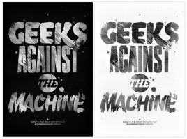 Geeks against the machine by incogburo
