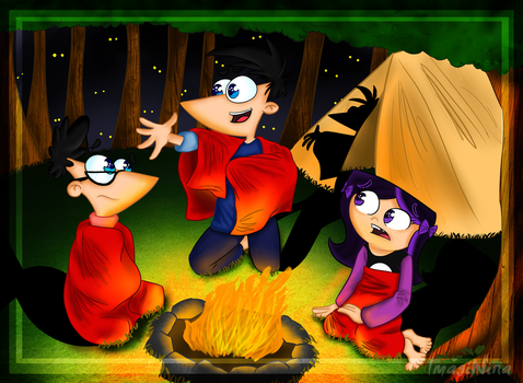 +: Stories around the Campfire :+ by ImagiNina