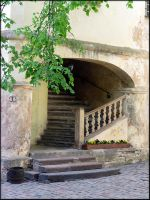 Composition with a stair... by Yancis