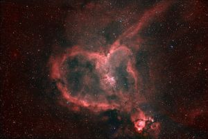 Heart Nebula by Keith139