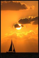 Sailing at Sunset by ranmor