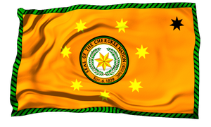 Flags of the World: The Cherokee Nation by MrAngryDog