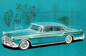 age of chrome and fins : 1955 -1956 Imperial by Peterhoff3