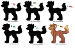 Mystery Pallet adopts (open) by ImaginingJays