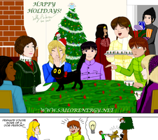 TRSE Happy Holidays 2014 1 of 2 gift for everyone by SailorEnergy