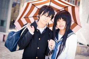 Hyouka: Oreki x Chitanda, Cutest couple *\\\* by 2greenia