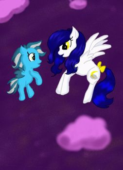 Moonlight Mist and Ice Storm by MikaSoul1996