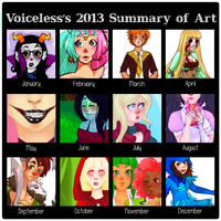 Summary of 2013 by voicelesss
