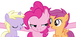 Pinkie Loves Little Fillies! by StableChaos