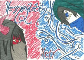 Heir and Hemoglobin by Grimsisters13