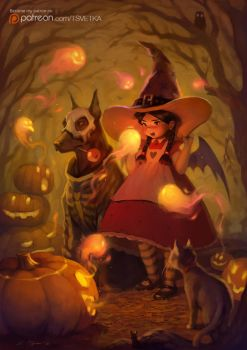Spirits of Halloween by Tsvetka