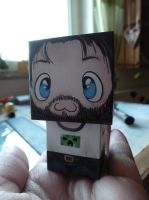 Cute little Gronkh :3 by Saerl