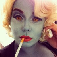 Hollywood Undead Series:Monster Glam Marilyn 2013 by Kabuki-Bunny