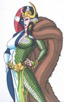 Mystique-Change of Face: Lady Loki by RobertMacQuarrie1
