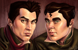 The Eyebrow Brothers by XtreamCrazy