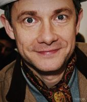 Martin Freeman by DanglingThpider