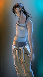 Chell Portal 2 by DizNot
