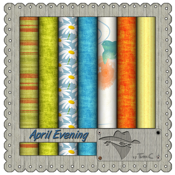 April Evening papers by MyLittleArtLife