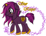 Star Keeper MLP Design for Disneygurl by KekeAneli