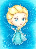 Elsa Chibi by Bella-ran