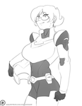 Busty Adult Pidge by morganagod