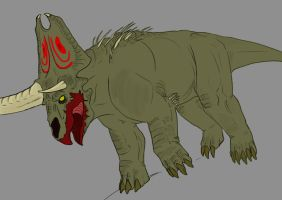 Pentasaurus Charger by Emmaflyingalone